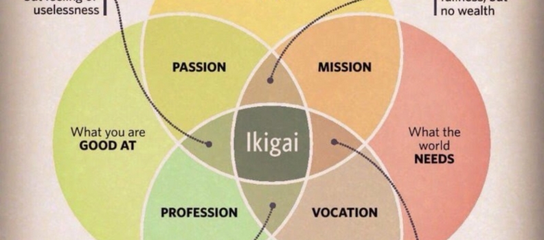 Ikigai is not a spellcheck issue!